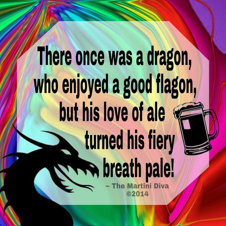 The Dragon's Flagon Cocktail Limerick