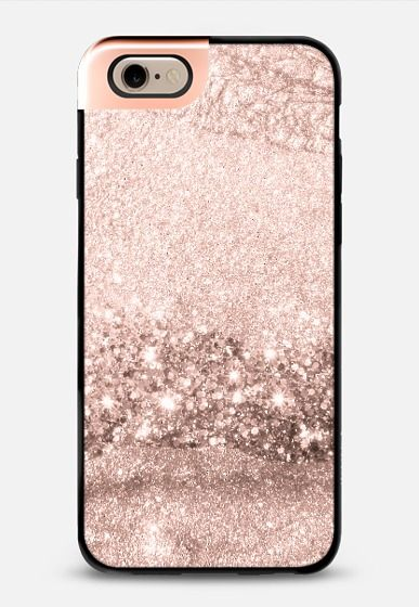 Rose Golden Flow Metalux By Monika Strigel Sparkly Phone