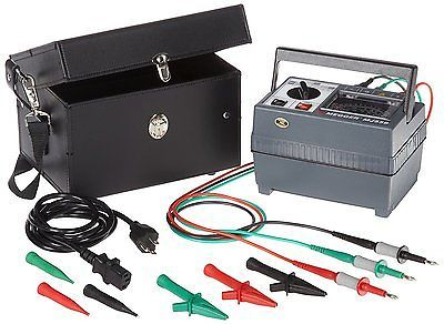 Electrical Testers 126406: Megger 212459 Analog Insulation Tester, Battery Powered, 2,000 Megaohms 100, V -> BUY IT NOW ONLY: $2009.13 on eBay!