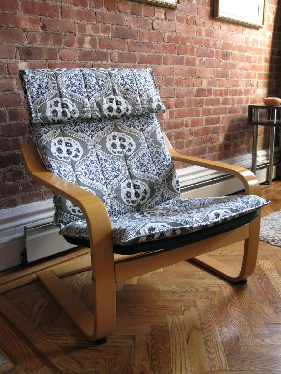 This Chair Is Awesome Chair Ikea Chair Red Cushions