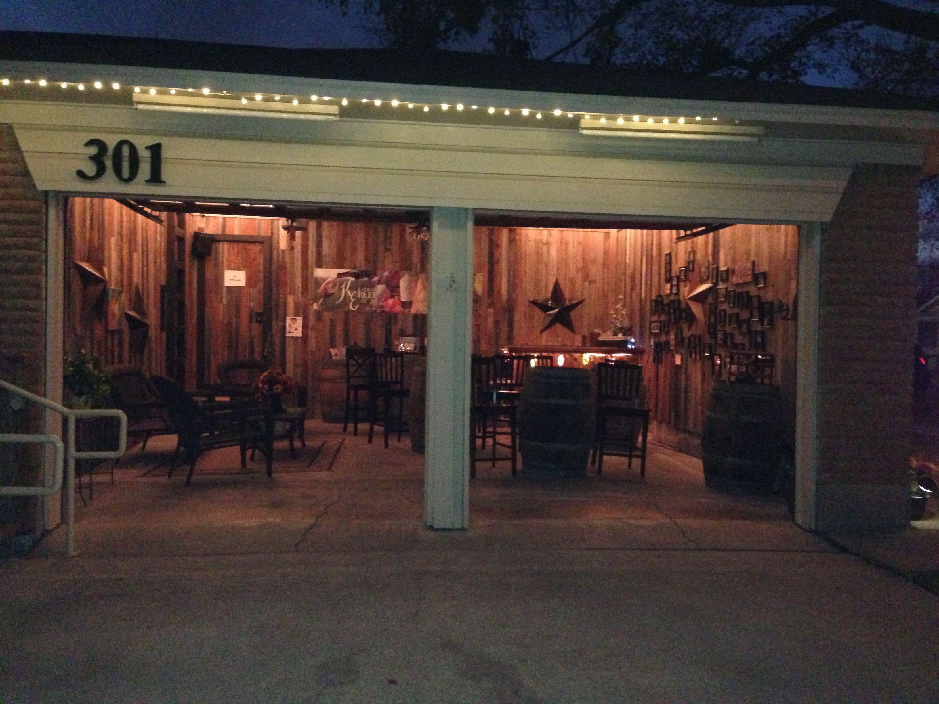 Garage bar, great idea! | Garage Bar | Pinterest | Garage bar, Bar ...