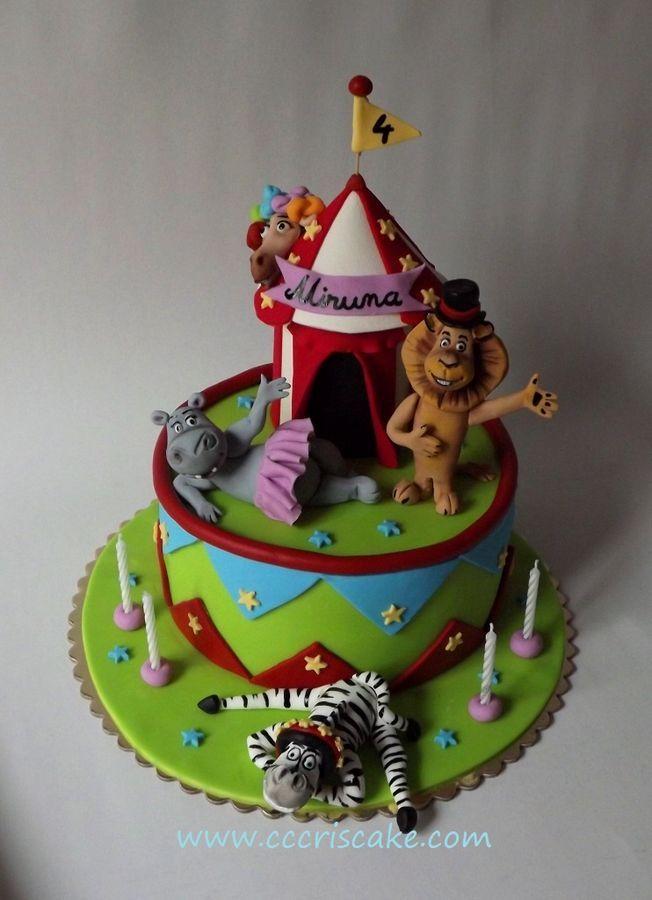 Madagascar   Birthday Cakes Foods Pinterest Madagascar - 3 birthday cake