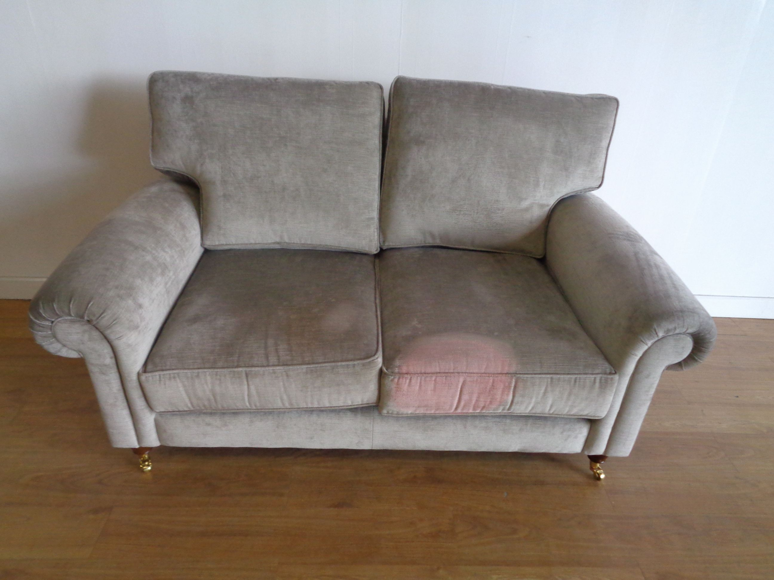 Luxury Laura Ashley Velvet Sofa Image