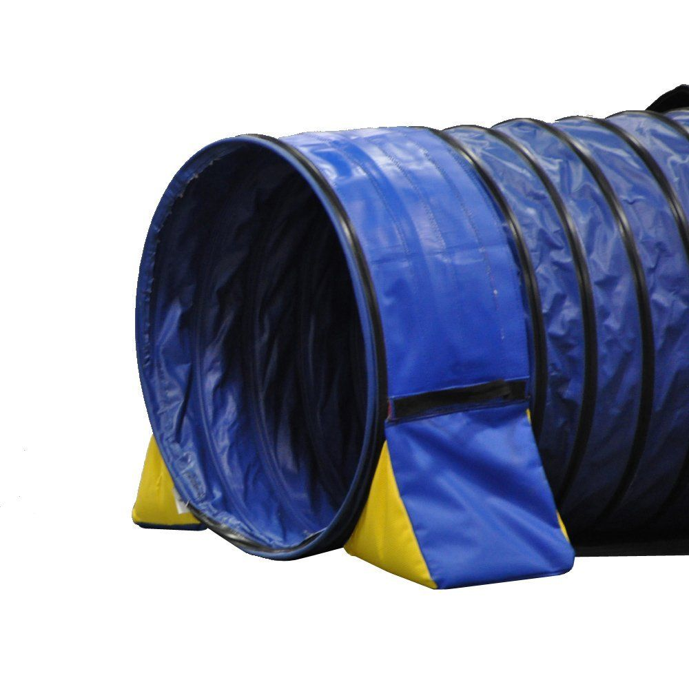 Amazon.com : Cool Runners Tunnel Hugging Non Constricting Dog Agility Tunnel Bag Set : Cool Runners : Pet Supplies