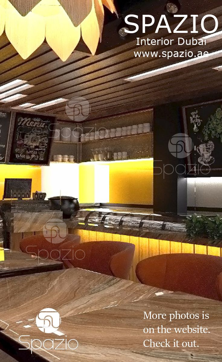 Bright cafe decor and interior design from restaurant interior design company in dubai if you want to have cafe interior design for your small cafe or