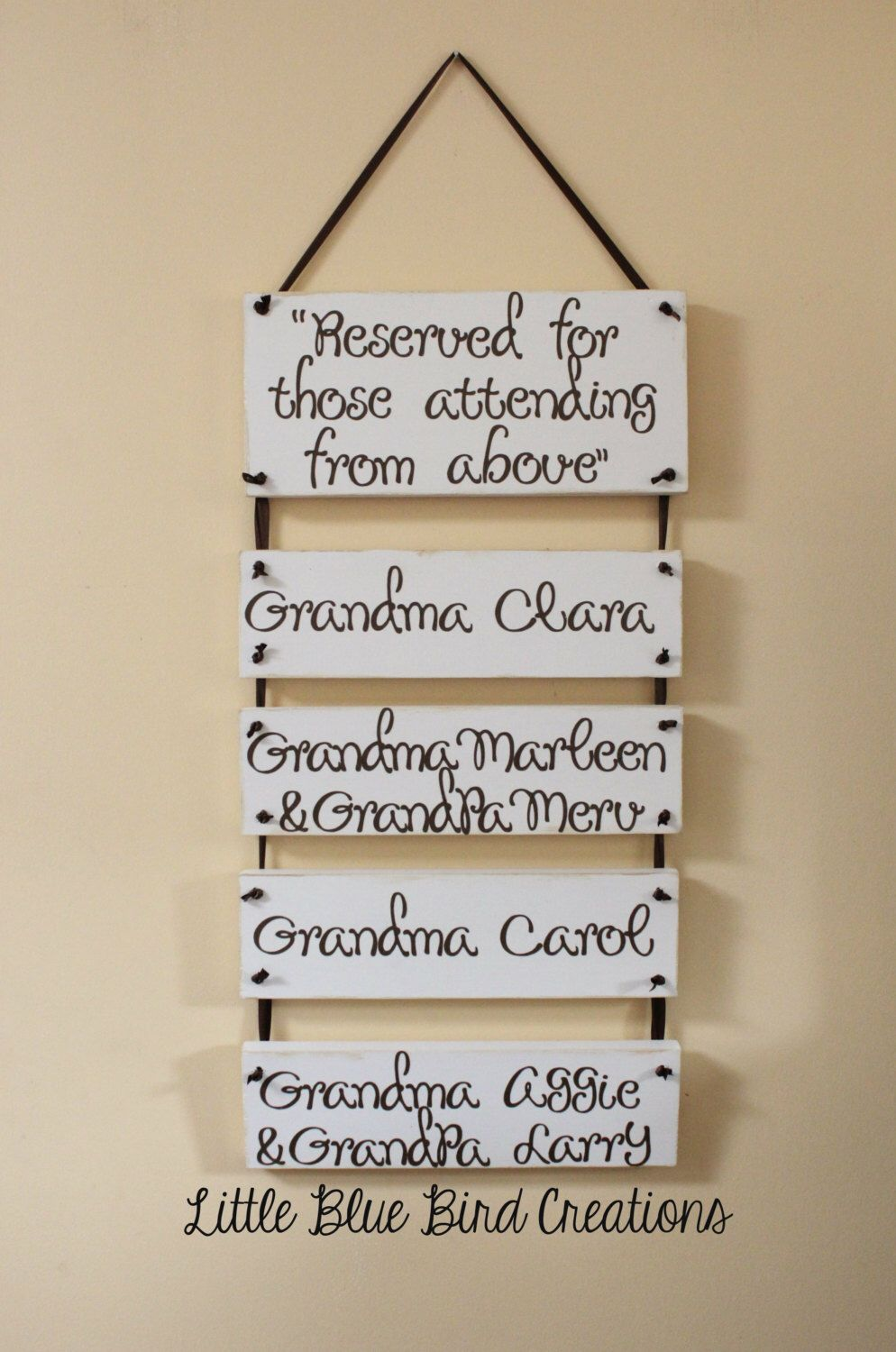 Wedding Decor Signs Delectable Reserved For Those Attending From Above Wooden Wedding Decor Sign 2018