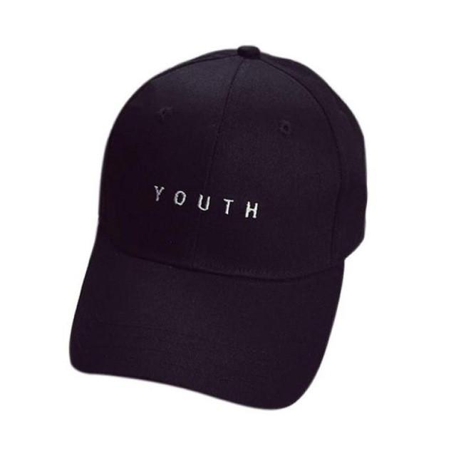 A sleek and modern baseball hat that may or may not remind you of your  youth. Hat Size  One Size Colors  Black af23cb57c7d