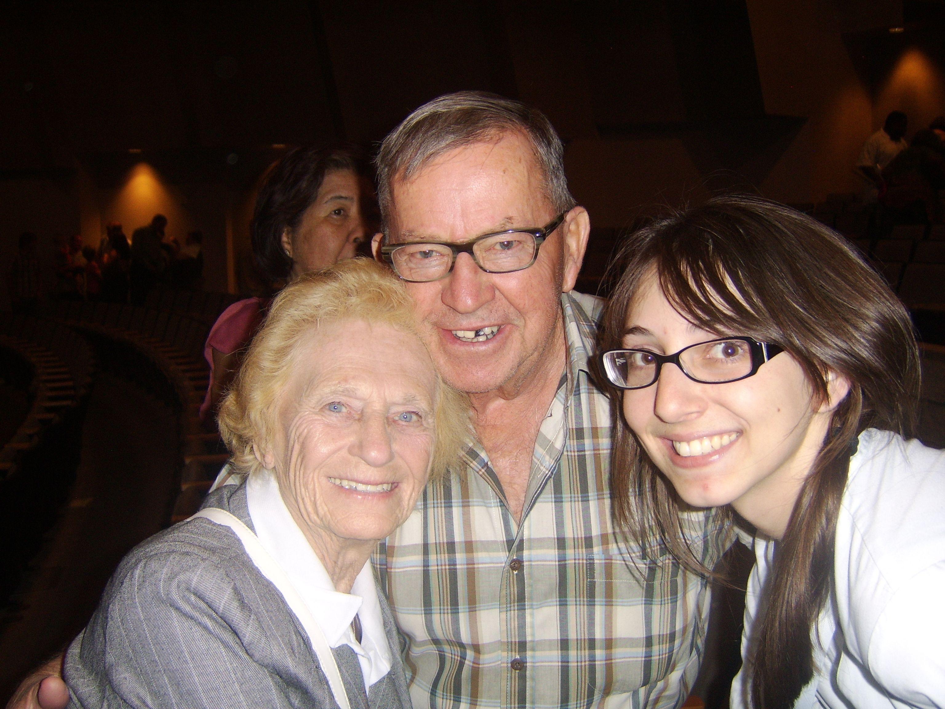 Mom Glady & Chuck