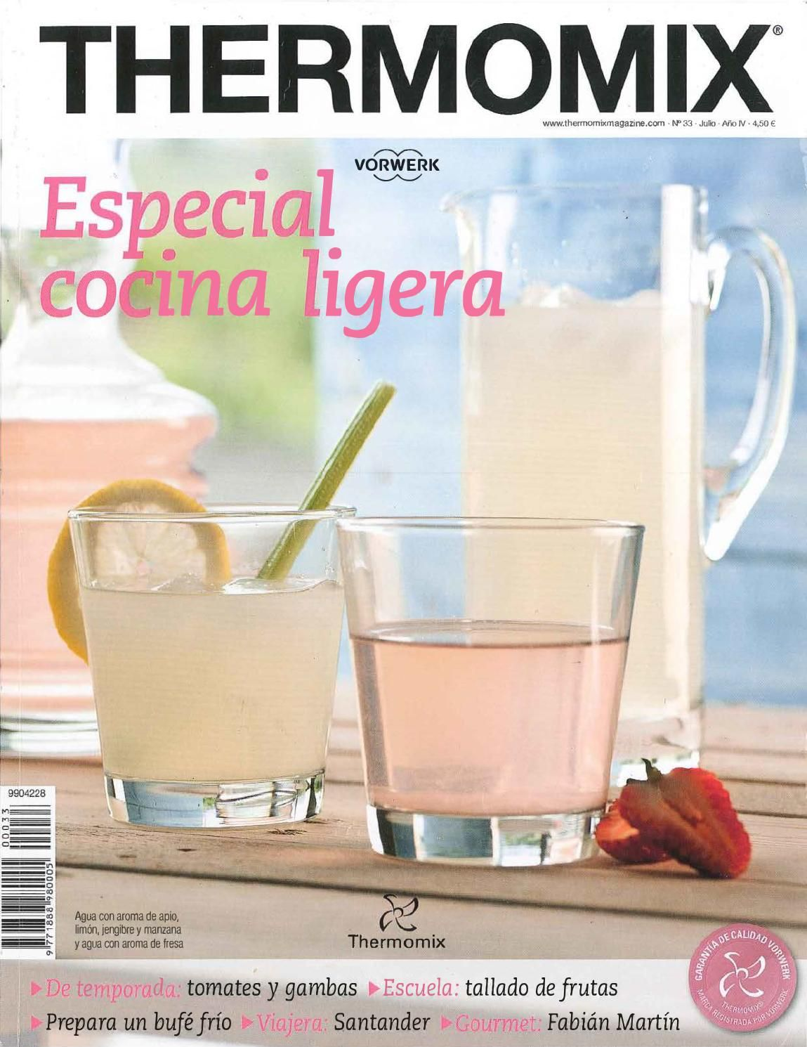 Revista Thermomix Nº33 Especial Cocina Ligera Thermomix Recipes Thermomix Cooking Guide