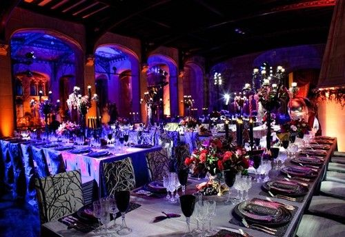 Halloween Inspired Wedding Reception Our Gothic Wedding Ideas