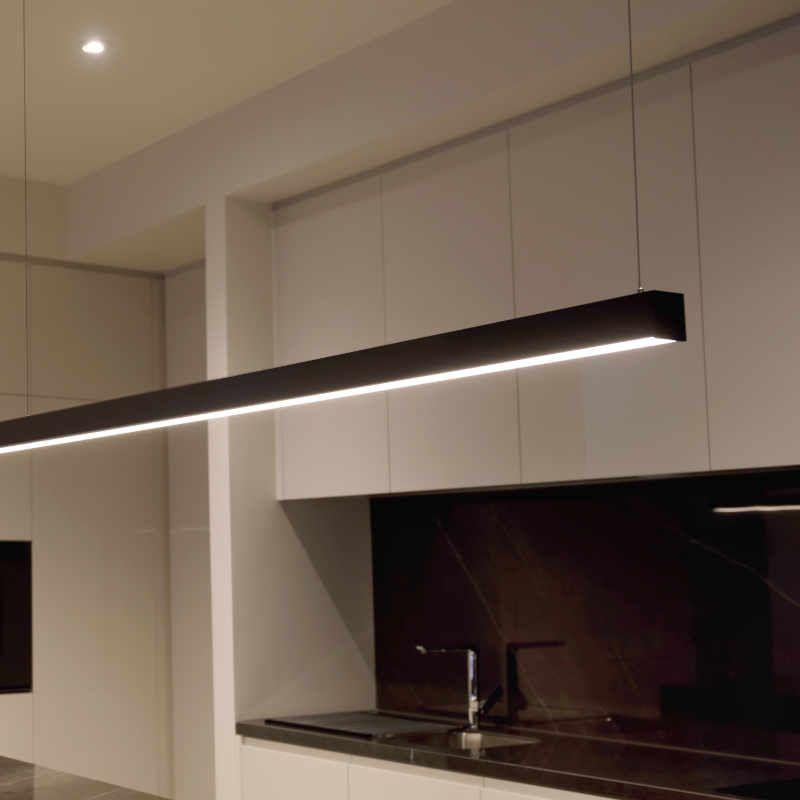 linear pendant lighting led world