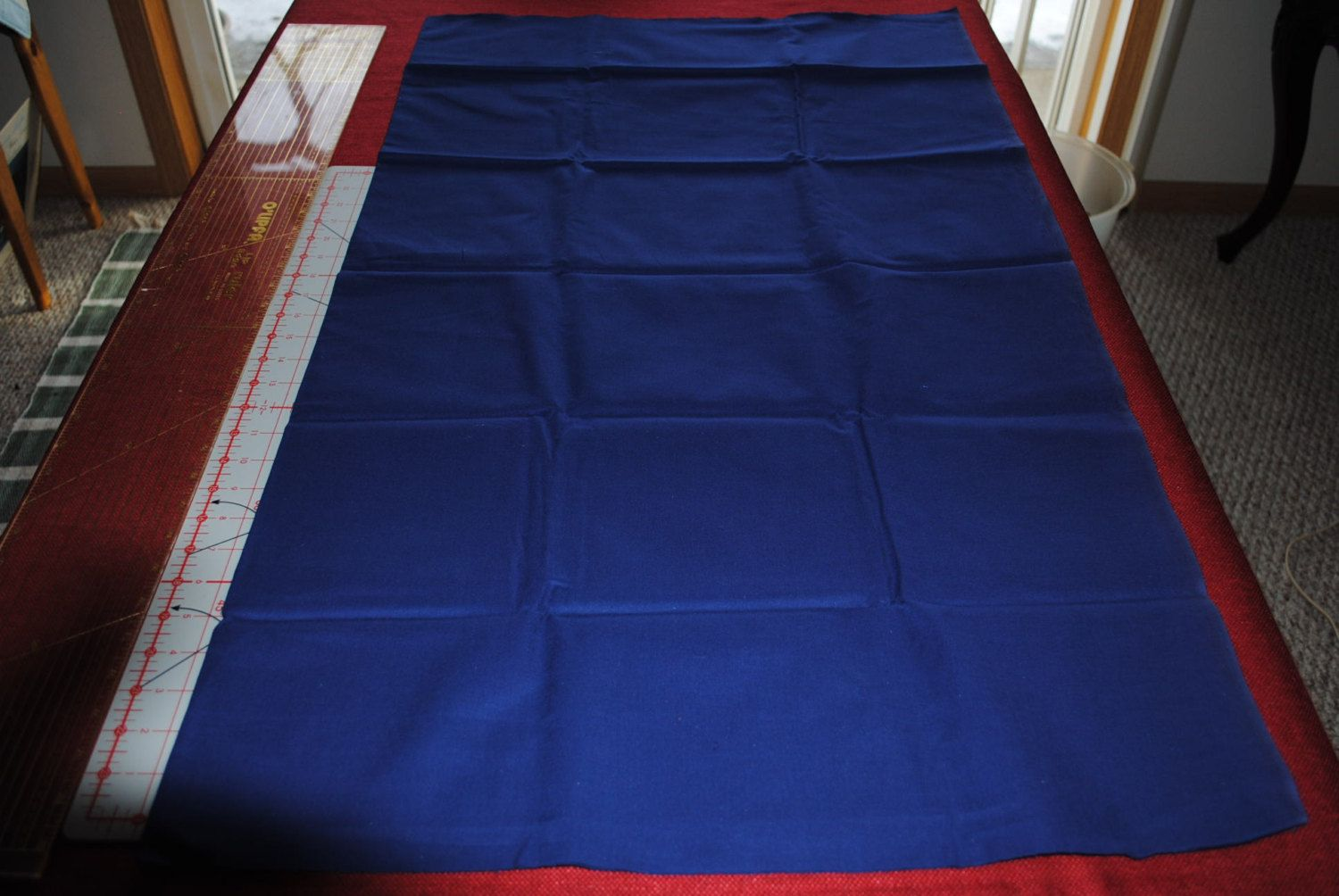 """Premium Broadcloth Solid Navy 38"""" x 44"""" by monroe2830 on Etsy"""