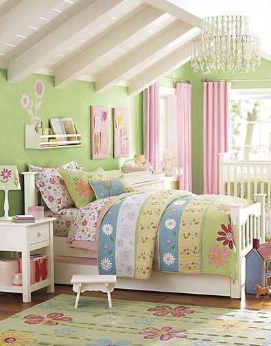 "Pink And Green Bedroom Designs Glamorous Nursery Colors Are Pinkgreengood Transition To ""big Girl 2018"