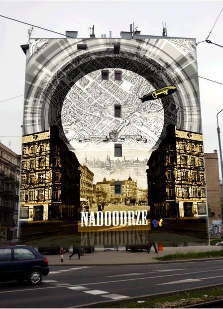 Wroclaw Nadodrze Wroclaw Street Art Pictures