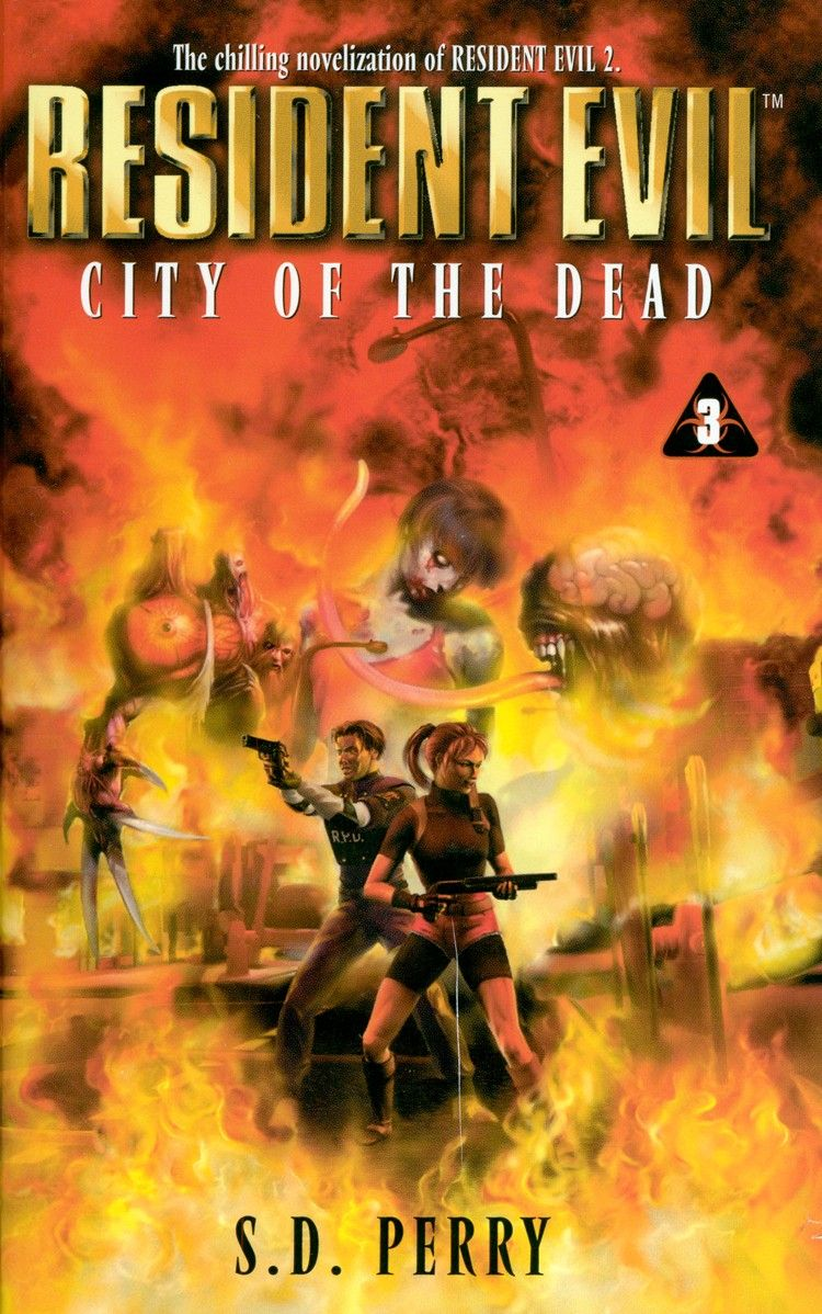 Resident Evil City Of The Dead By S D Perry : Zombies, Guns