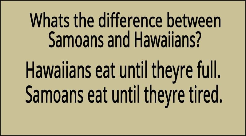 difference between samoan and hawaiian