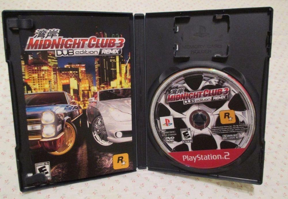 Midnight Club 3 Dub Edition Remix Greatest Hits Sony Playstation 2