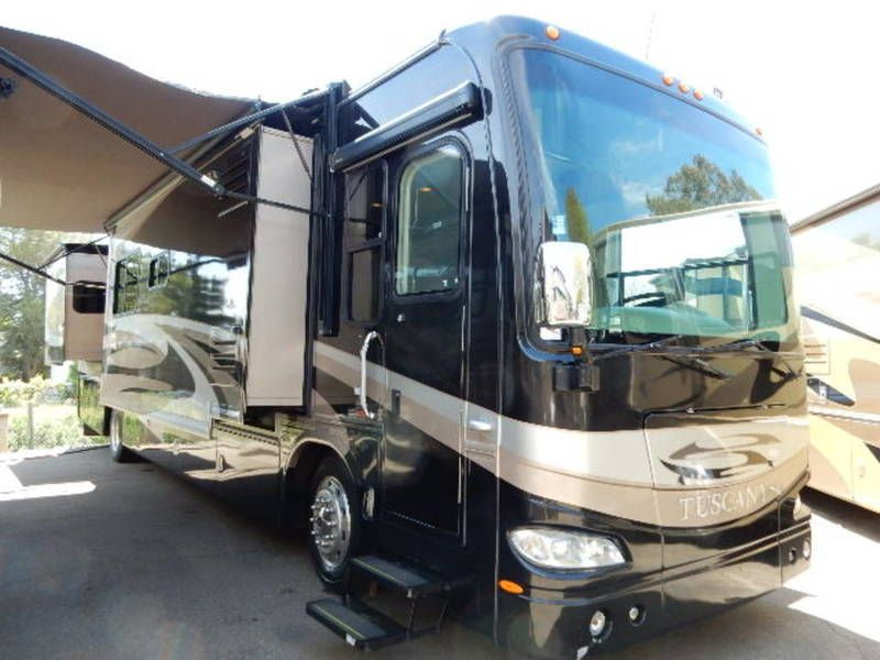 Used 2007 Damon Tuscany 4076 Class A Diesel For Sale In Davis