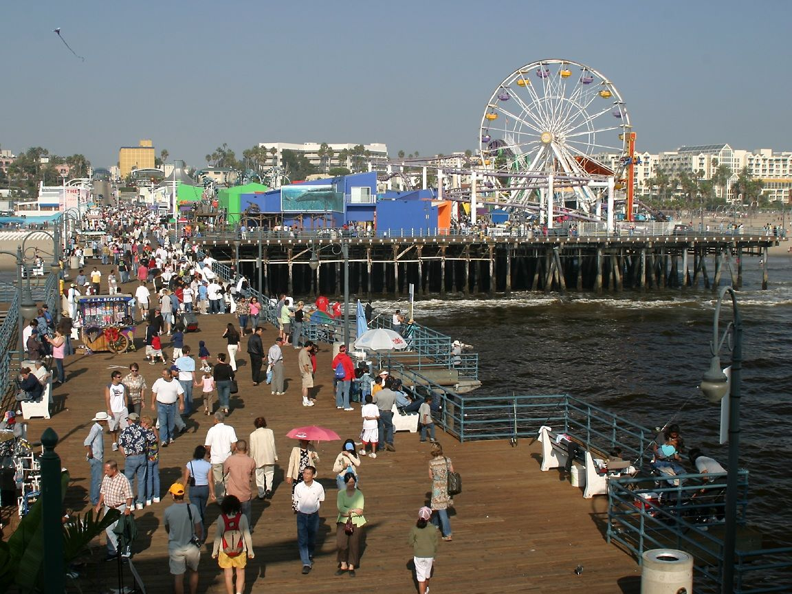 Santa Monica Pier Funny How I M Always Going Back To Cali Cali Cali Los Angeles Tourism Best Vacation Spots Los Angeles Attractions