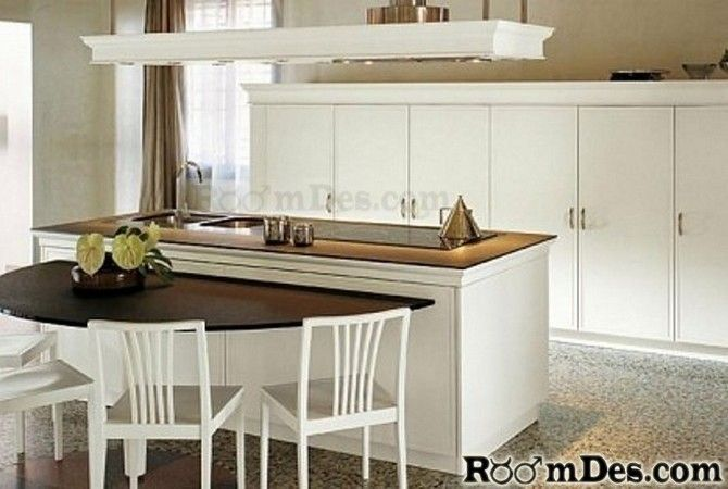 Hmmm Semi Circle Table Classic Kitchen Design Interior Design