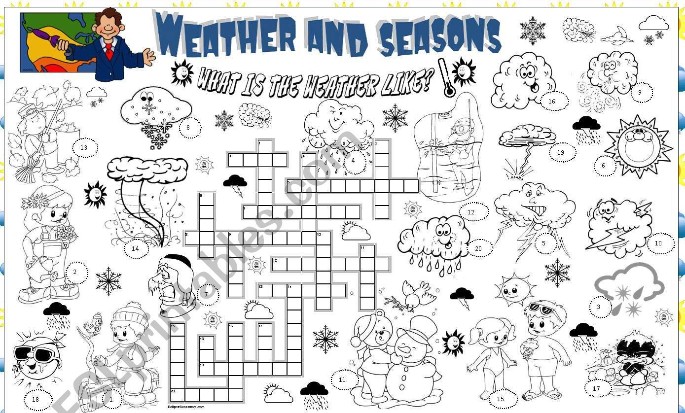 Weather And Seasons It Is Fully Editable And Key Included