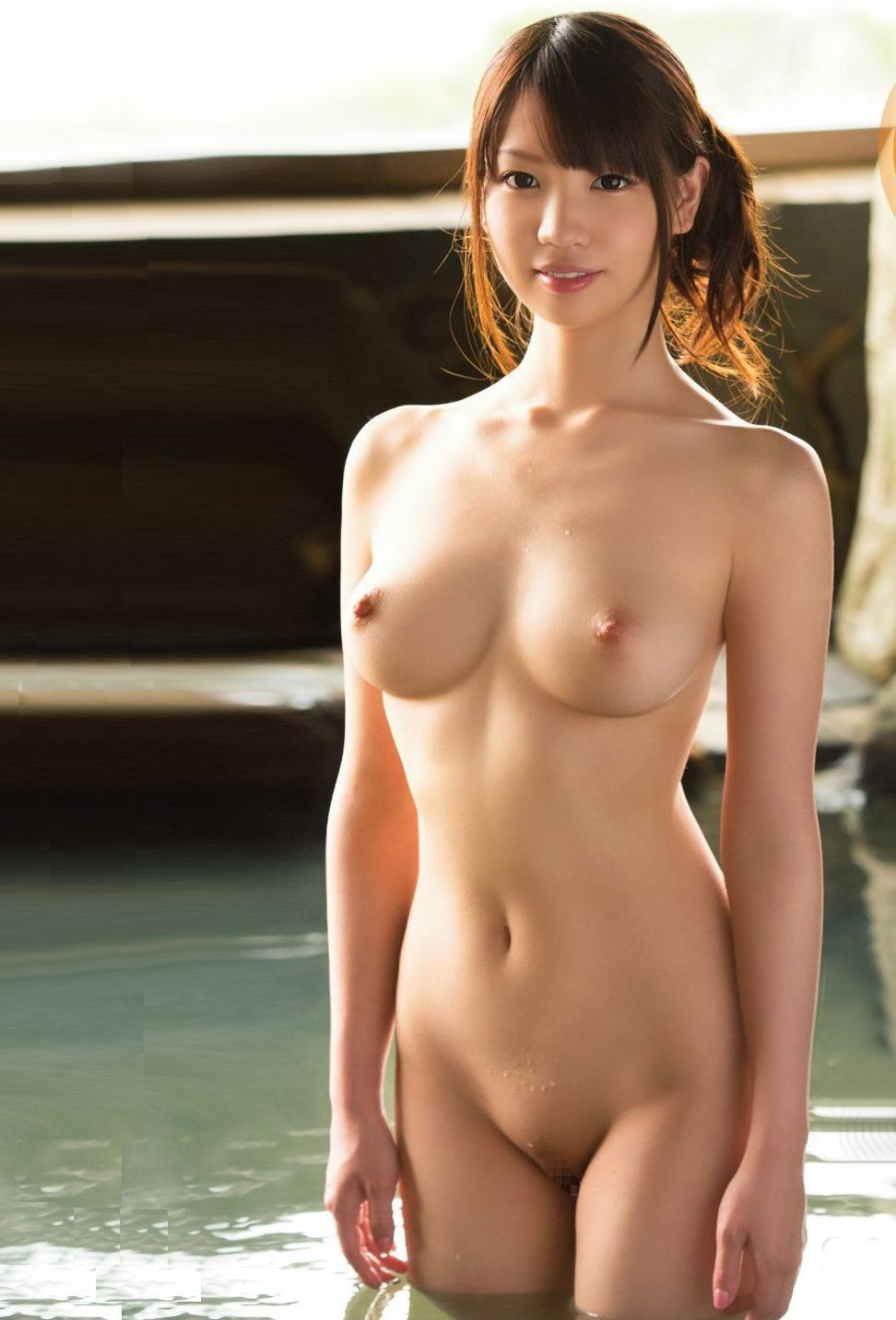 Pretty japan girl naked