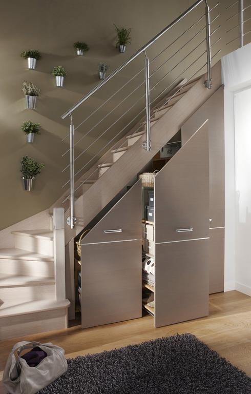 Cinq astuces pour optimiser les espaces atypiques Escaliers