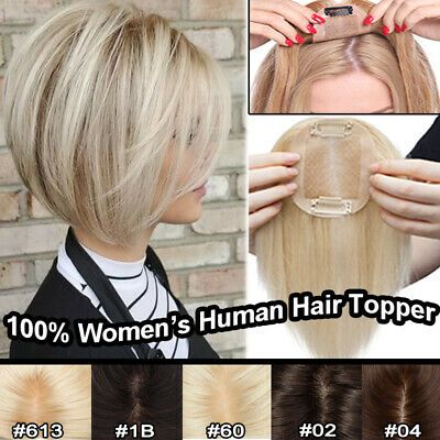 Details about Silk Base Real REMY Women Human Hair