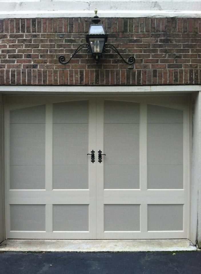 Exceptionnel ... Design 32 With ARCH 1 Top, In Sandtone With Desert Tan Overlays.  Www.clopaydoor.com For More Options. Installed By Aquarius Door Services In  NJ.