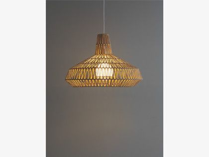 Wilbur natural jute hand woven ceiling light shade habitatuk