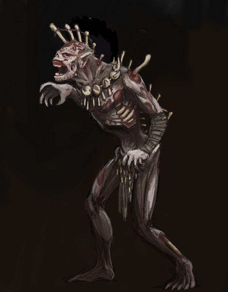 Image result for elder scrolls bonewalker art
