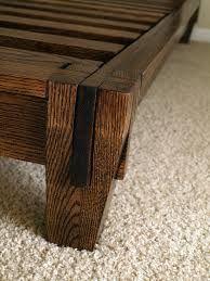 Bed Frame Wood Joints Framejdi Org