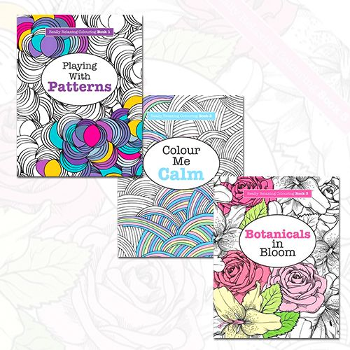 Really Relaxing Adult Colouring 3 Books Collection Set At Best Price Shop Now Ebayeu 1F5iTXT ColouringBooks Playingwithpatterns