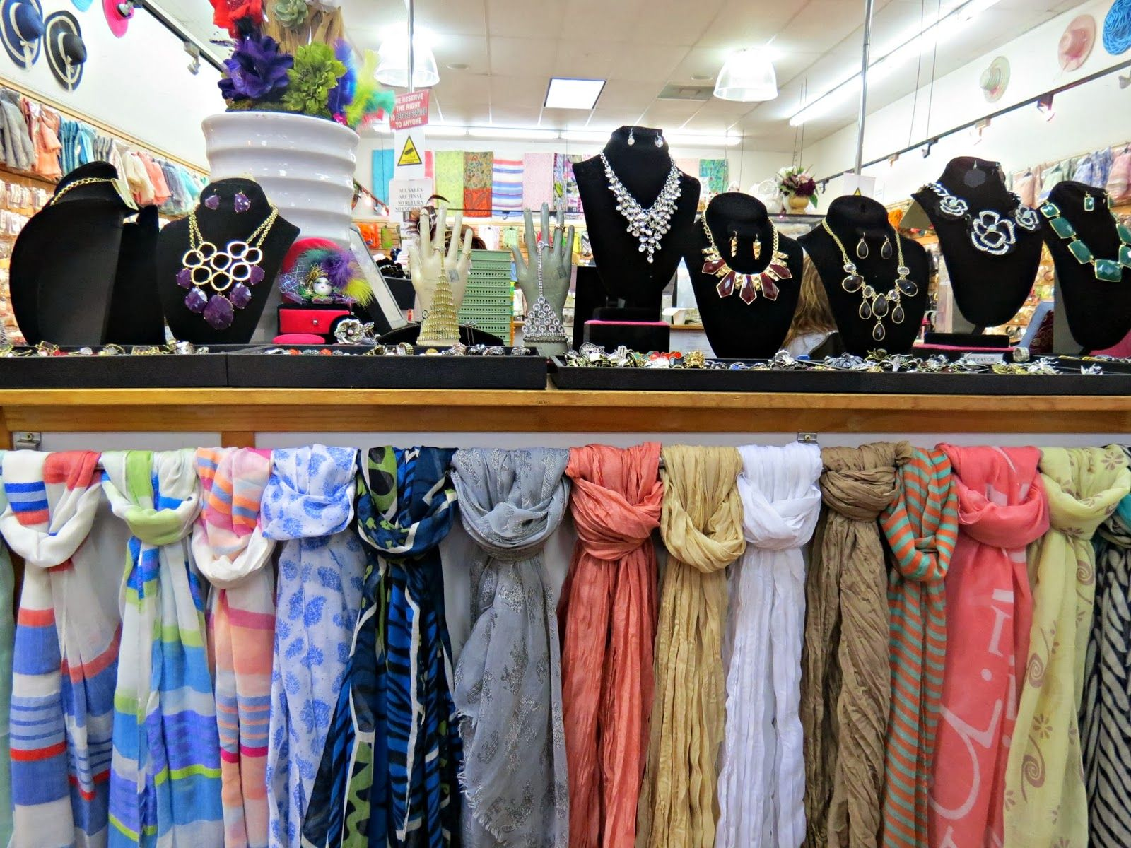 02ba18125ac The Santee Alley: Fashion Fantasia: Scarves and Bridal Accessories  Specialty Store