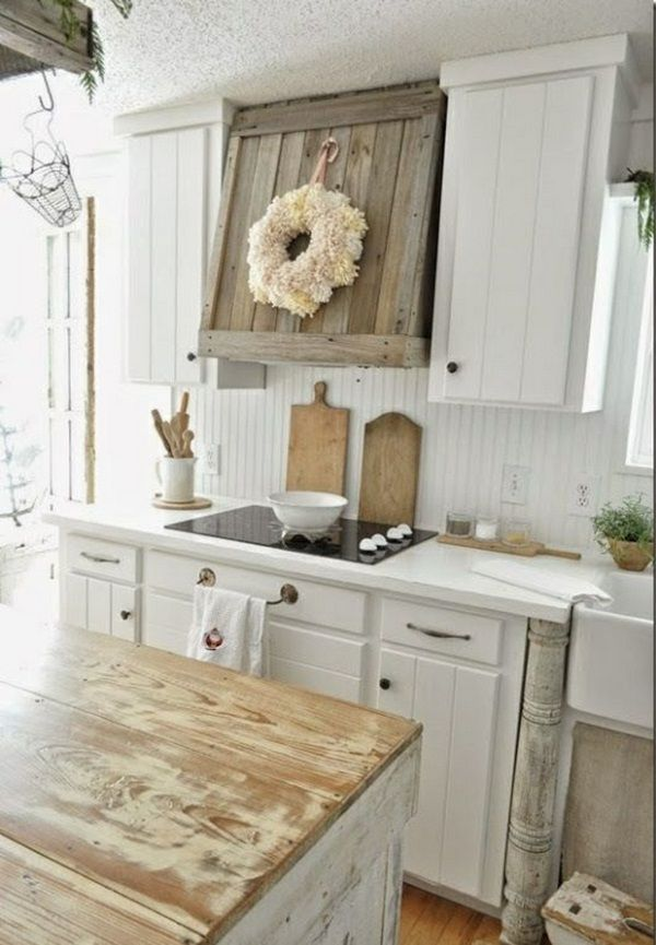kitchen cabinets sets barn house 23 rustic country design ideas to jump start your next weathered wood off classic clapboard