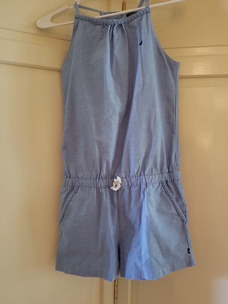 8b47e873060 Girls Nautica Blue Romper excellent condition Size 12  fashion  clothing   shoes  accessories  kidsclothingshoesaccs  girlsclothingsizes4up (ebay  link)