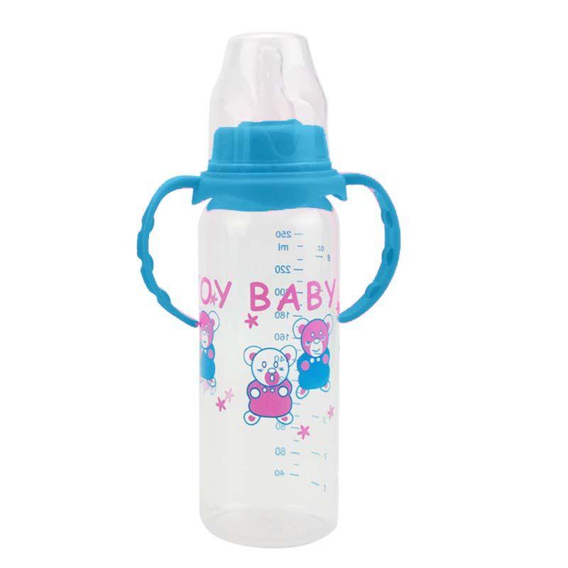 Kids Temperature Sensor Milk Water Bottle Baby Nipple Pacifier BPA-Free Bottles