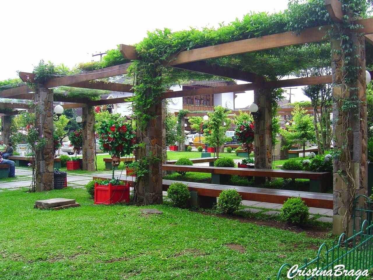 O Jardim Verde da Cris: Suportes para Trepadeiras