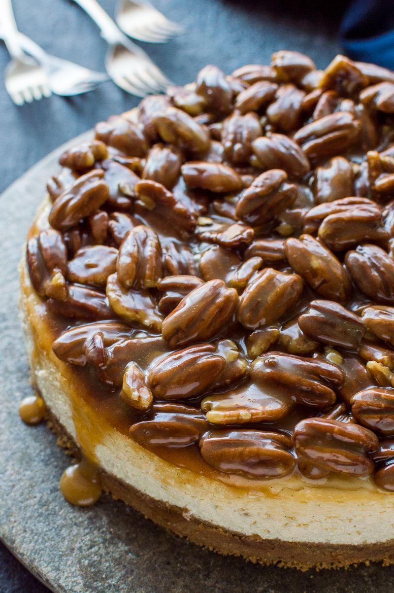 Pekannuss-Kuchen-Käsekuchen - Dekoration Haus Diy #pecanpiecheesecakerecipe