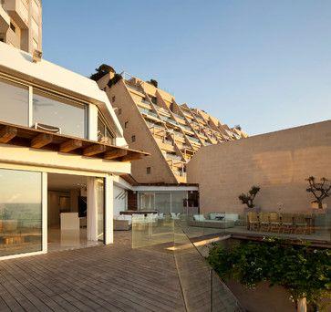 modern patio by Gerstner. In Tel-Aviv. Love it!