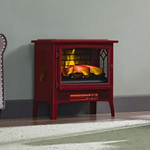 Duraflame Cinnamon 3d Infragen Electric Fireplace Stove With