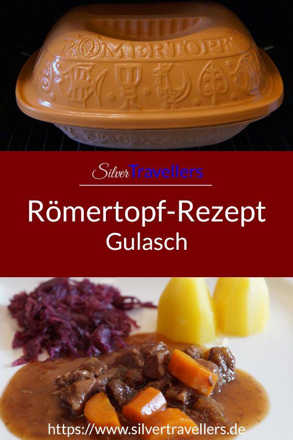 Römertopf-Rezept: Gulasch