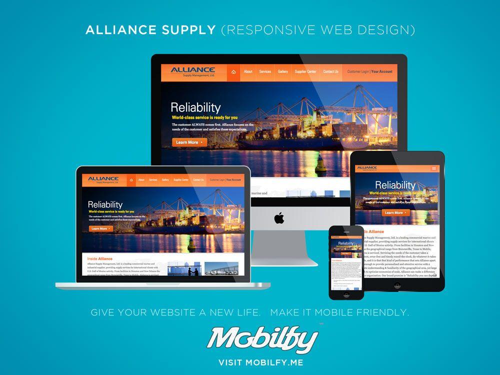 Oil Gas Marine Supply Houston Tx Responsive Web Design Web Design Responsive Web Design Design