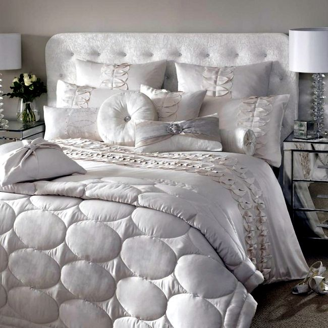 Luxury Bedding Kylie Minogue - satin, sequins and elegant style C