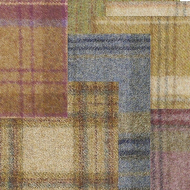 Felted tweeds perfect for home accessories