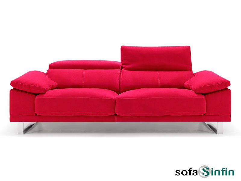 Sof de estilo moderno modelo mito de divani star m s info for Sofas tela modernos