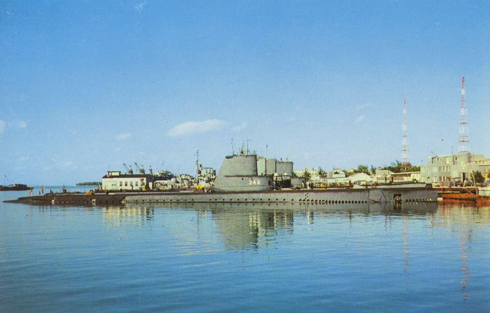 US Navy Submarine Base - Key West, Florida | Postcards in ...