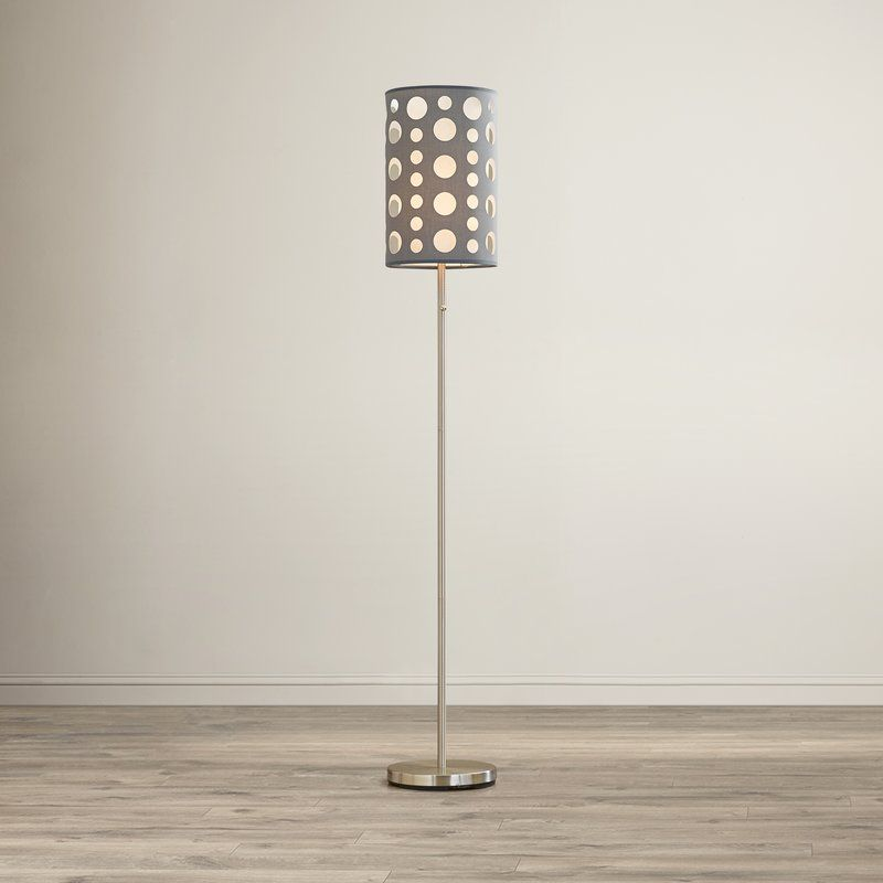 "Column Floor Lamp O'connell 62"" Stndard Floor Lamp  Floor Lamp Columns And Lights"