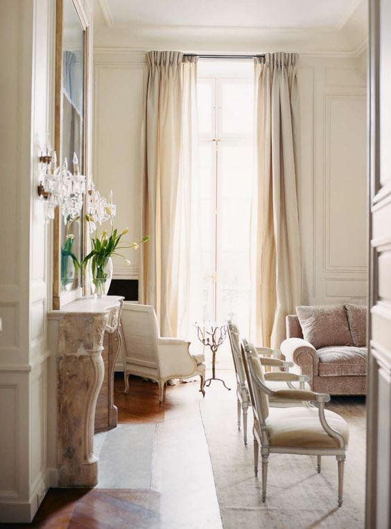 10 Charming Paris Apartment Photos U0026 Decorating Ideas! | House Beautiful,  Ivory And House