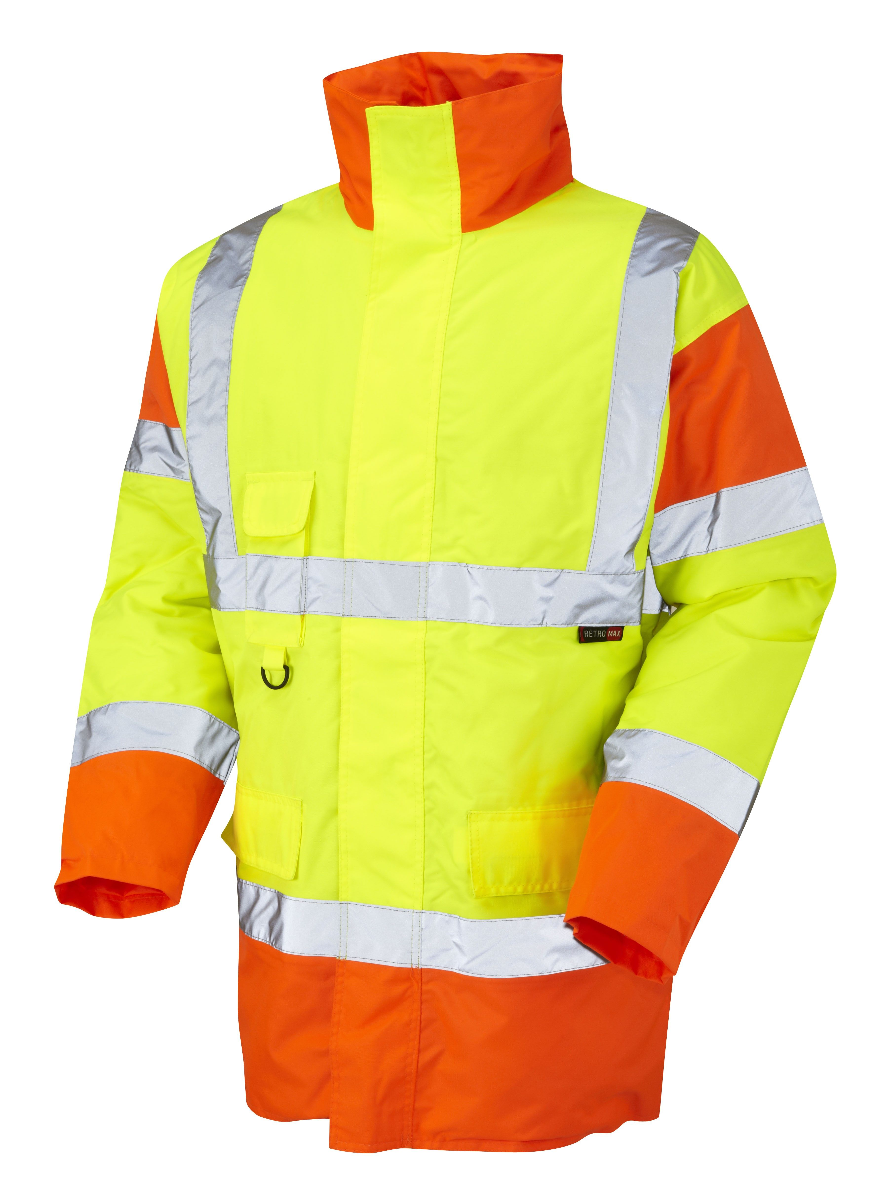 Iso 20471 class 3 hi vis safety ppe basic anorak 2xl 3xl